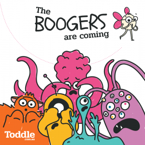 Toddle-The-Boogers-Are-Coming-eBook-Cover